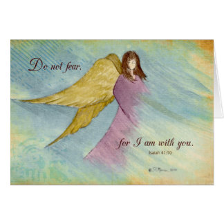 Angel Religious Thinking of You Greeting Card