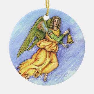 """Angel Ringing Belll"" Ornament"