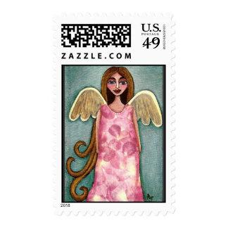 Ángel rosado del Hydrangea - sello angelical