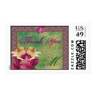 Angel Rose Thank You Stamps