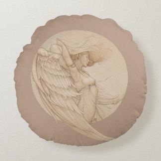 Angel Round Pillow