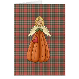ángel rubio de la calabaza tarjetas