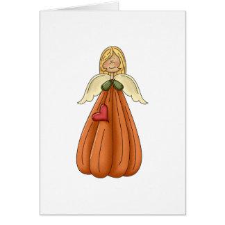 ángel rubio de la calabaza tarjeton