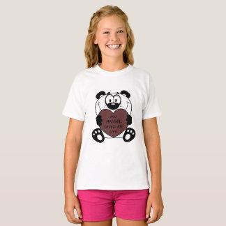 Angel saved life panda T-Shirt