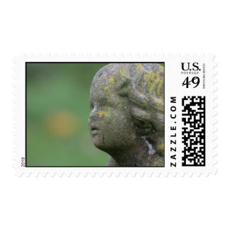 Angel sculpture stamps