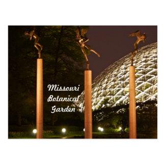 Angel Sculptures at Missouri Botanical Garden Postcard