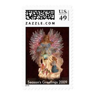 """""""Angel""""  Season's Greetings 2009 Postage"""