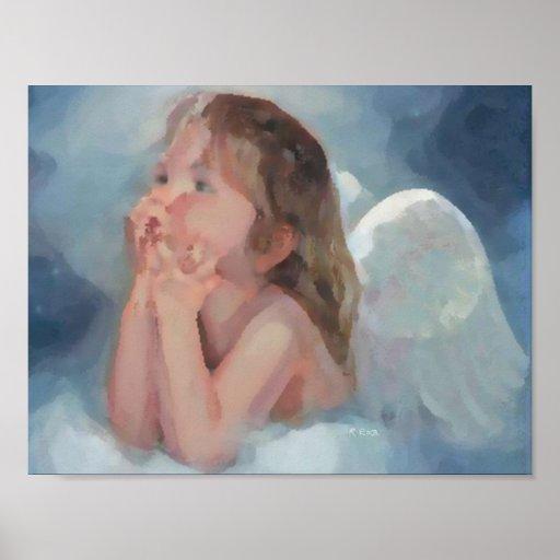 Angel secret oils poster