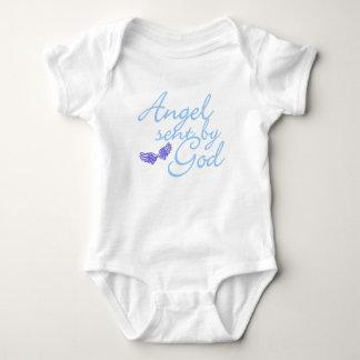 angel sent by god: blue baby bodysuit