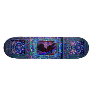 Angel Silhouette Skateboard