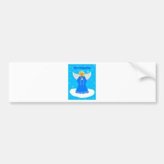 Angel Sing Bumper Sticker