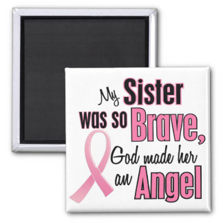 Angel SISTER Breast Cancer T-Shirts & Apparel Magnet