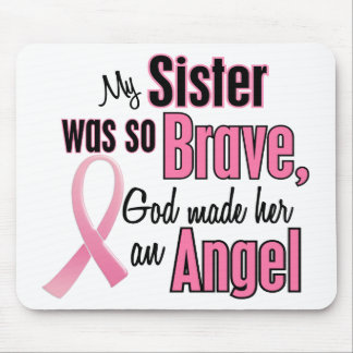 Angel SISTER Breast Cancer T-Shirts & Apparel Mouse Pad