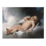 Angel* *Sleeping por León Jean Basile-Perrault Postal