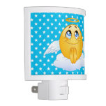 Angel Smile Happy Face Night Light