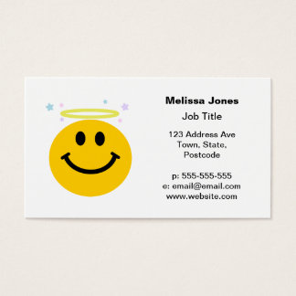 Angel Smiley face Business Card