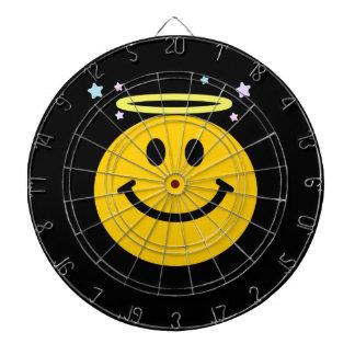 Angel Smiley face Dart Boards