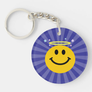 Angel Smiley face Keychain