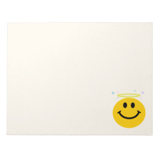 Angel Smiley face Scratch Pads