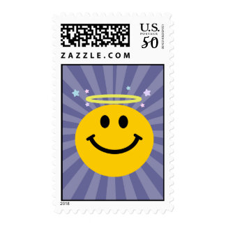 Angel Smiley face Postage