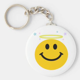 Angel Smiley Keychain