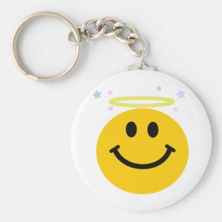 Angel Smiley Key Chain
