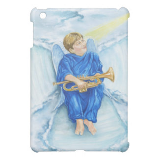 Angel Snow Day iPad Case