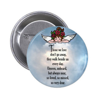 "Angel ""So Loved"" Pinback Button"