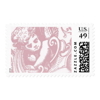 angel_soft pink by Ceci New York Postage Stamp