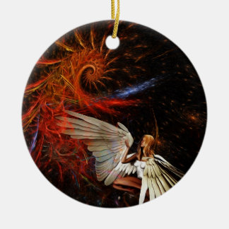 Angel Space Christmas Tree Ornament