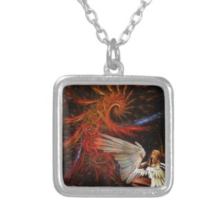 Angel Space Necklace