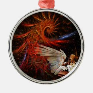 Angel Space Ornament