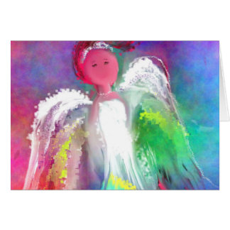 Angel Sparkle Greeting Cards