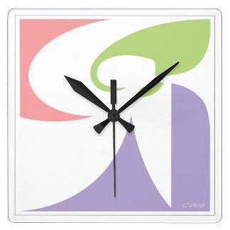 Angel Square Wall Clock