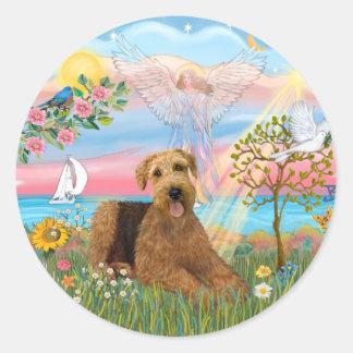 Angel Star - Aireadle #5 Classic Round Sticker