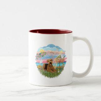 Angel Star - Aireadle #5 Two-Tone Coffee Mug
