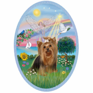 Angel Star and Yorkshire Terrier #7 Cutout