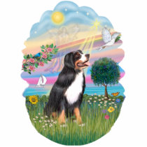 Angel Star - Bernese Mountain Dog Cutout