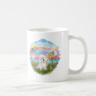 Angel Star - Bichon Frise Classic White Coffee Mug