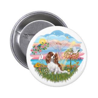 Angel Star - Blenheim Cavalier Pinback Buttons