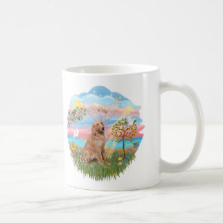 Angel Star - Golden Retriever #2 Coffee Mug