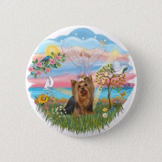 Angel Star-Yorkshire Terrier (#7) Button