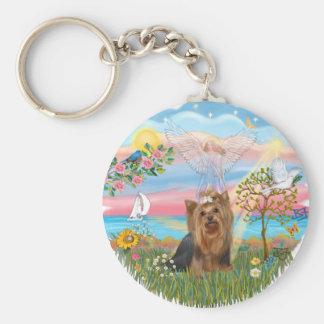 Angel Star-Yorkshire Terrier (#7) Keychain