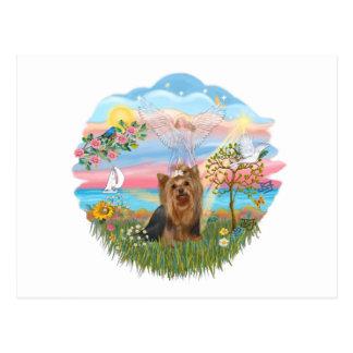 Angel Star-Yorkshire Terrier (#7) Postcard