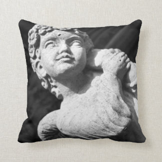 Angel Statue American MoJo Pillows
