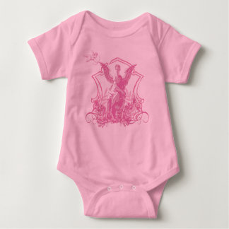 Angel Statue Baby Bodysuit