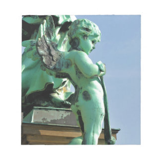 Angel statue in Berlin, Germany Notepad