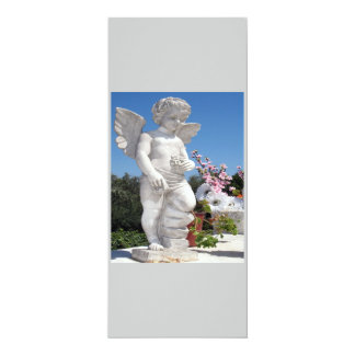 Angel Statue In Grey And White IV Custom Invite