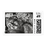 Angel Statue Postage Stamps
