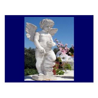 Angel Statue Postcard